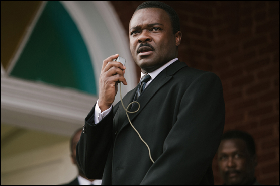 David Oyelowo as the Rev. Dr. Martin Luther King Jr. in the Oscar-nominated <cite>Selma</cite>. Paramount Pictures, 2014, PG-13.