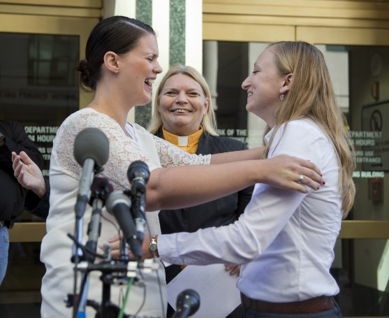 same-sex marriage in Arlington, Va. (AP Photo/Manuel Balce Ceneta)